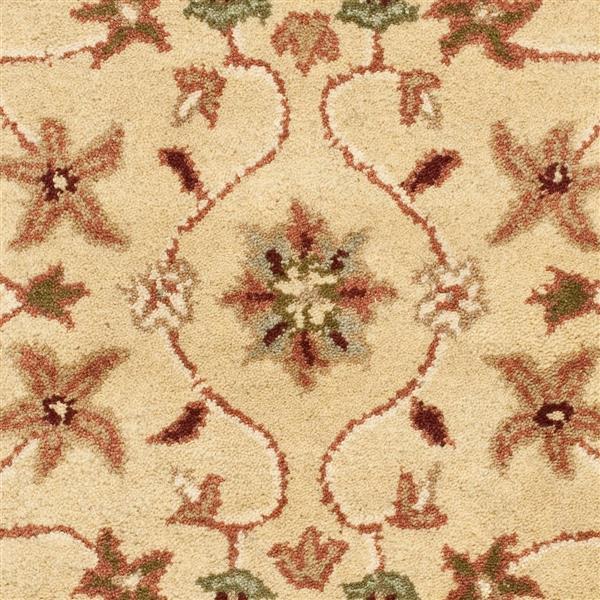 Safavieh Heritage Floral Rug - 2' x 3' - Wool - Ivory/Red