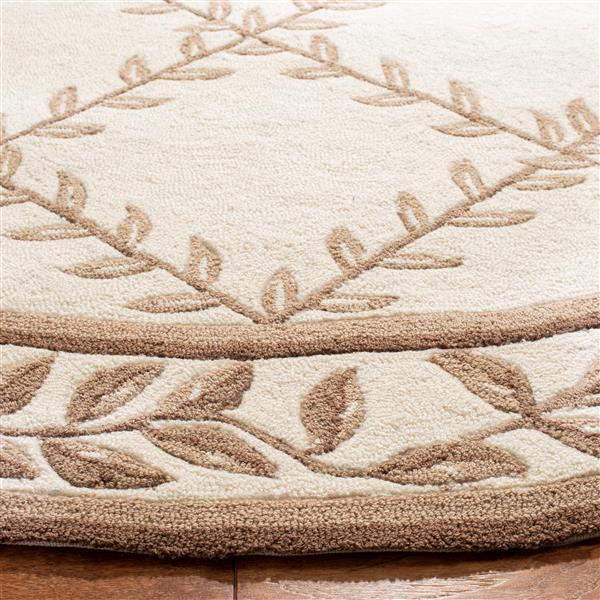 Safavieh Easy Care Floral Rug - 3' x 5' - Polypropylene - Ivory/Sage