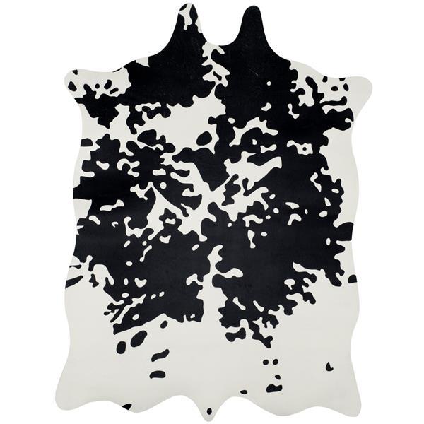 Safavieh Faux Hide Rug - 5' x 6.5' - Polyester - Brindle