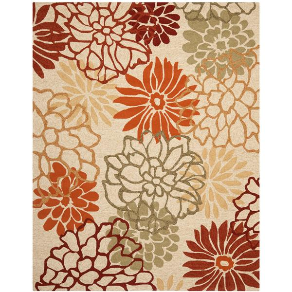Safavieh Four Seasons Rug - 3.5' x 5.5' - Polyester - Multicolour