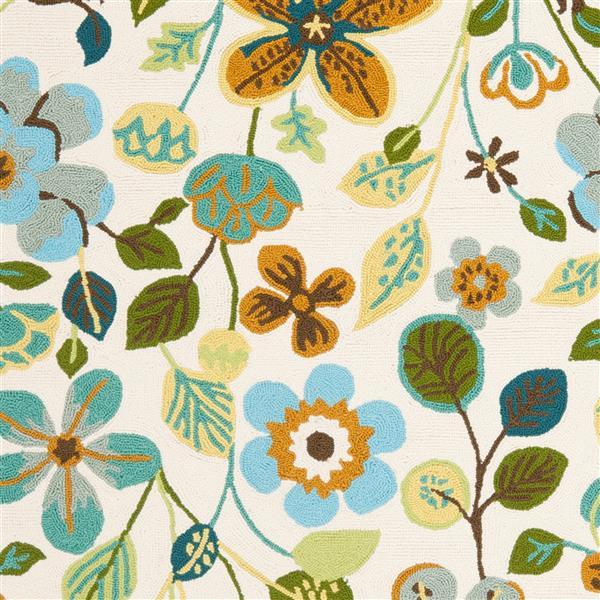 Safavieh Four Seasons Rug - 3.5' x 5.5' - Polyester - Multicolour