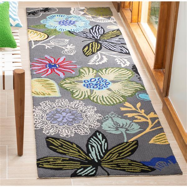 Safavieh Four Seasons Rug - 2.3' x 8' - Polyester - Multicolour