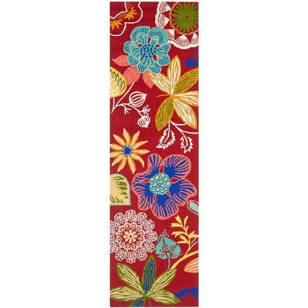 Safavieh Four Seasons Rug - 2.3' x 6' - Polyester - Multicolour