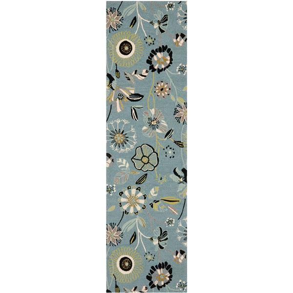 Safavieh Four Seasons Rug - 2.3' x 8' - Polyester - Multicolour