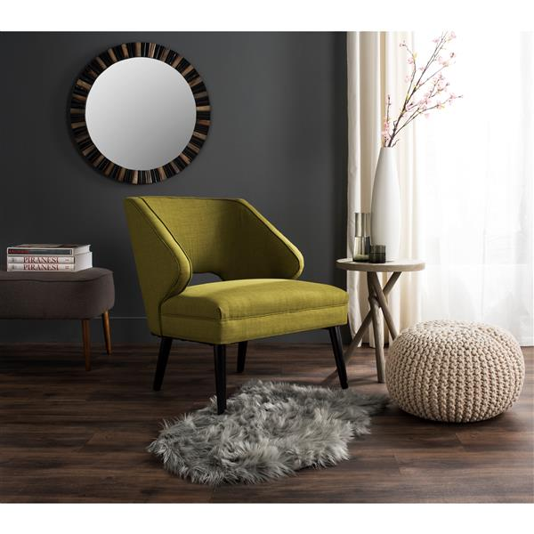 Safavieh Faux Sheep Skin Rug - 2' x 3' - Acrylic - Gray
