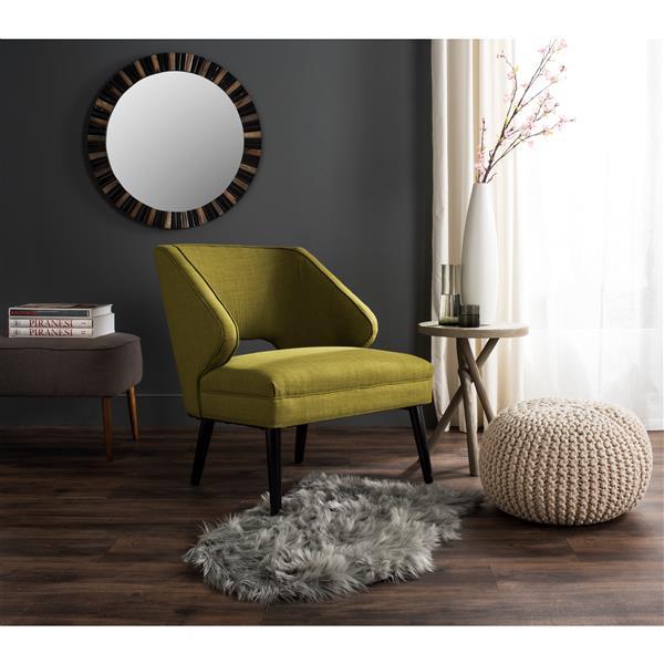 Safavieh Faux Sheep Skin Rug - 2.5' x 6' - Acrylic - Gray