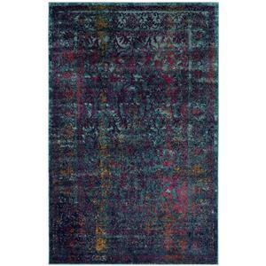 Granada Floral Rug - 3' x 5' - Polypropylene - Multicolour