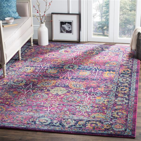 Safavieh Granada Floral Rug - 4' x 6' - Polypropylene - Multicolour