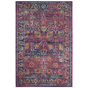 Granada Floral Rug - 4' x 6' - Polypropylene - Multicolour