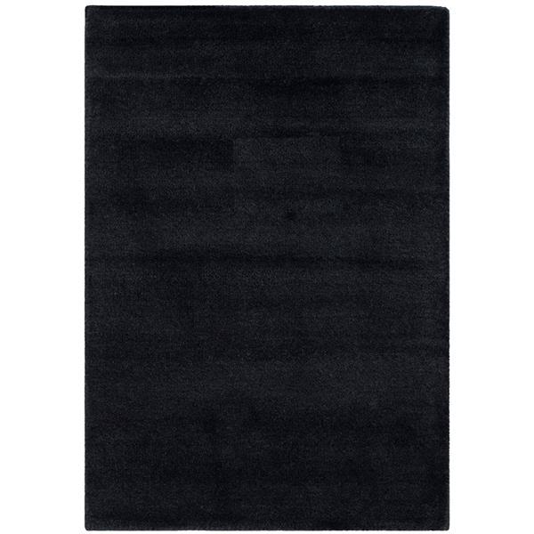 Himalaya Solid Rug - 3' x 5' - Wool - Black