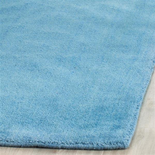Himalaya Solid Rug - 2.3' x 8' - Wool - Blue