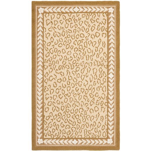 Safavieh Chelsea Print Rug - 2.8' x 4.8' - Wool - Ivory
