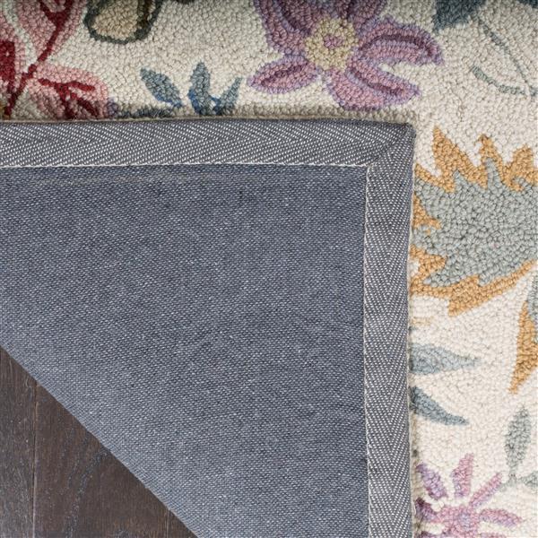 Safavieh Chelsea Floral Rug - 2.5' x 8' - Wool - Multicolour