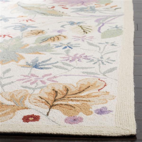 Safavieh Chelsea Floral Rug - 4' x 4' - Wool - Multicolour