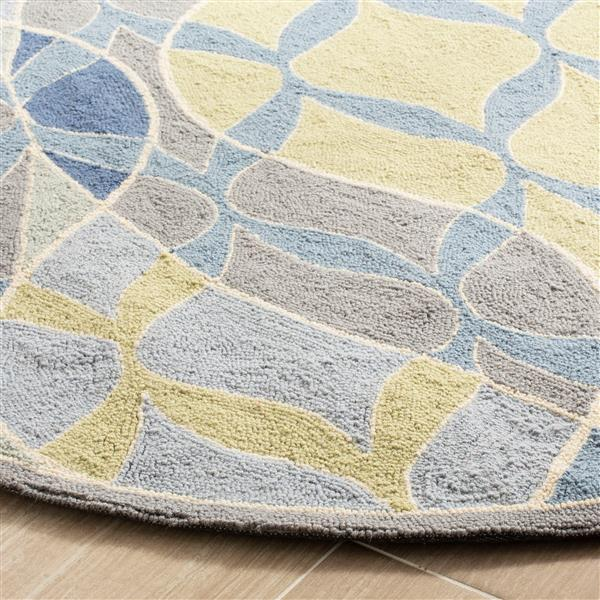 Safavieh Chelsea Geometric Rug - 2.5' x 8' - Wool - Multicolour