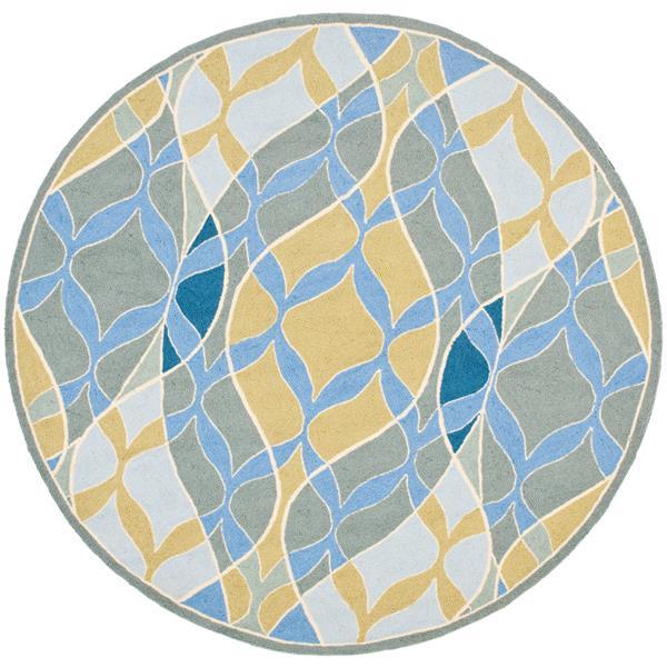 Safavieh Chelsea Geometric Rug - 4' x 4' - Wool - Multicolour