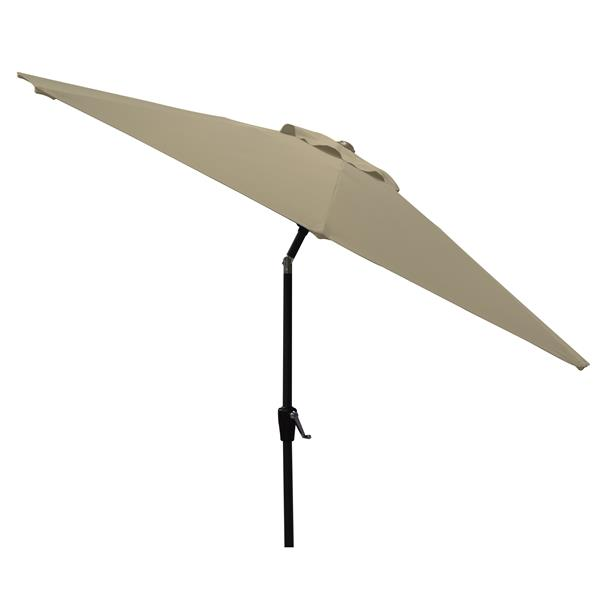 Corriveau Patio Umbrella Octogonal Fabric Top - Tan - 8.5'
