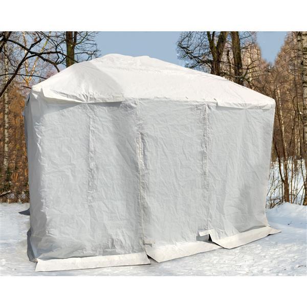 Corriveau Winter cover for gazebo -  10'x14'