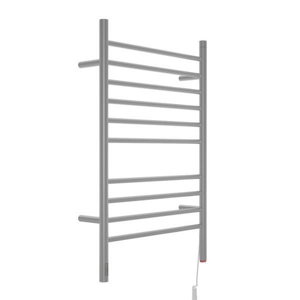 "Ancona Argenta OBT Dual 10-Bar Towel Warmer with timer - 36.6""x24"""