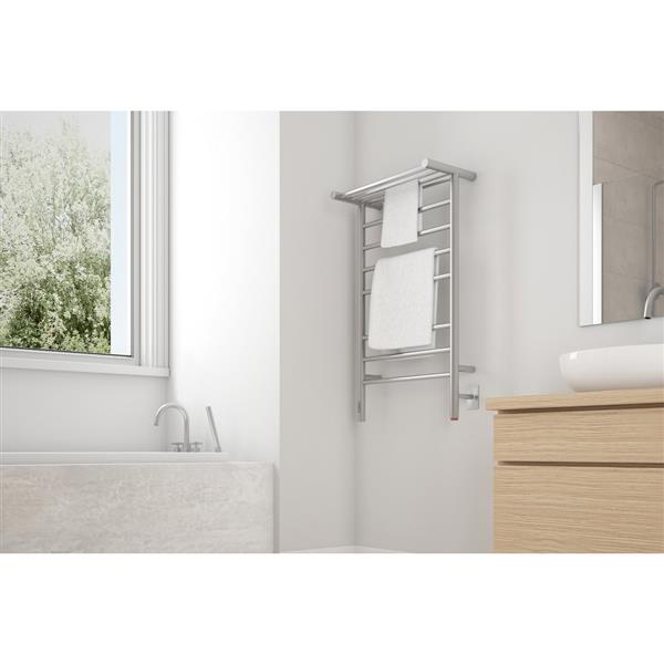 """Ancona Liazzo OBT Towel Warmer with On-Board timer - 35.4""""x19.6"""""""