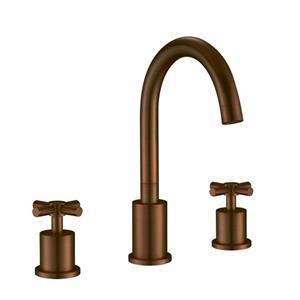 """Ancona Prima Widespread Bathroom Faucet - Bronze -10.63"""""""