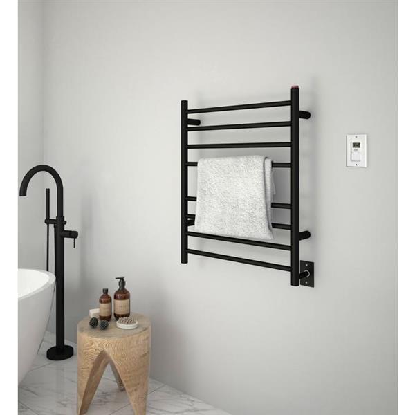 ancona porte serviette chauffant prestige avec minuterie. Black Bedroom Furniture Sets. Home Design Ideas