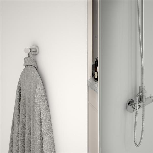 Ancona Aria 4-piece Bathroom Accessory Set - Brushed Nickel