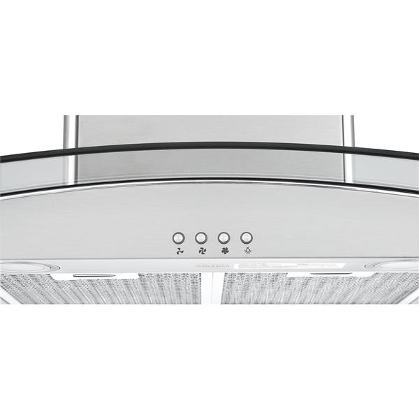 Ancona 36-in 620 CFM Island Range Hood (Stainless Steel)