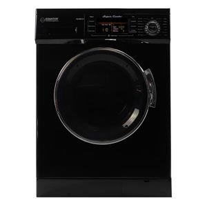 Equator 24-in 1.57-cu ft Front-Load Combination Washer and Dryer (Black)