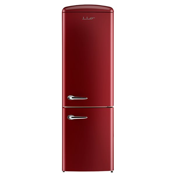 Chambers 24-in 12-cu ft. Bottom Mount Retro Refrigerator (Red)