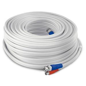 Swann HD Video and Power Cable - 100ft / 30m - White