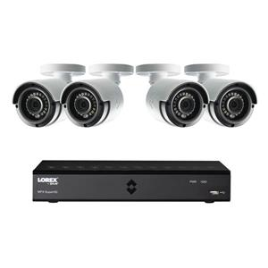 Lorex 8 CH 1TB HD DVR Security System 4 2MP Security Cameras