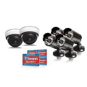 Prévention contre voleurs avec 6 fausses caméras de Swann