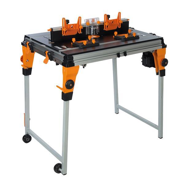 """Module de table à toupiller Triton, 28"""", MDF, orange/noir"""