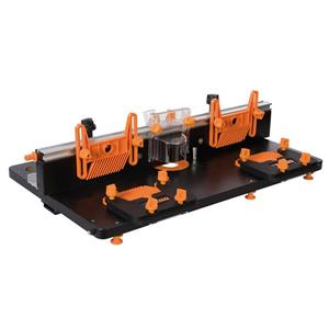 "Module de table à toupiller Triton, 28"", MDF, orange/noir"