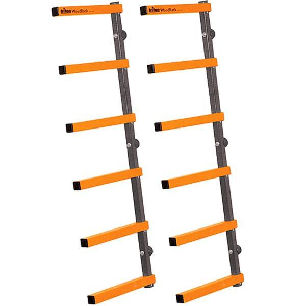 Système de rangement Triton, 6 niveaux, orange/noir