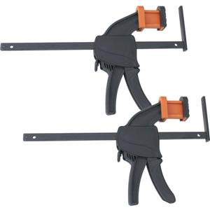 Triton Tools Work Clamps - Plastic - Black - 2 pcs
