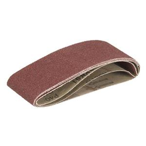 Triton Tools 60G Sanding Belts - 2.5-in x 16-in - Aluminum Oxide - 3 pcs