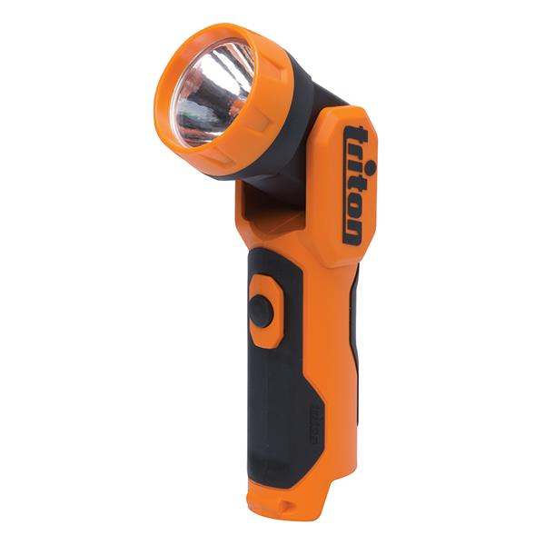 Triton Tools Flashlight - Plastic - Orange/Black - 12 V