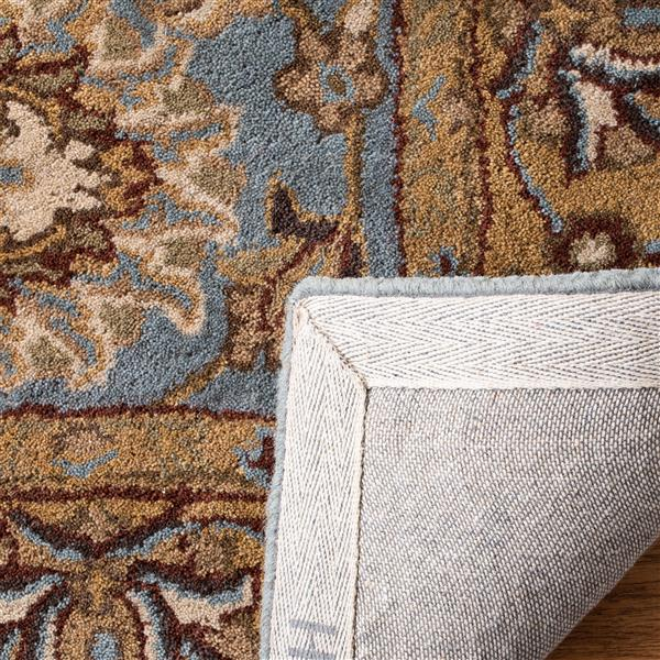 "Safavieh Heritage Decorative Rug - 7' 6"" x 9' 6"" - Blue/Gold"