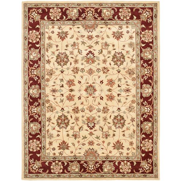 "Safavieh Heritage Decorative Rug - 7' 6"" x 9' 6"" - Ivory"