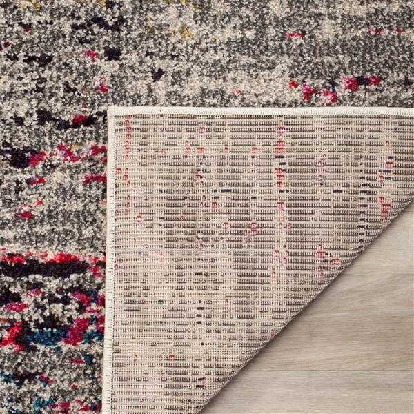 Safavieh Monaco Decorative Rug - 5' x 5' - Grey/Ivory