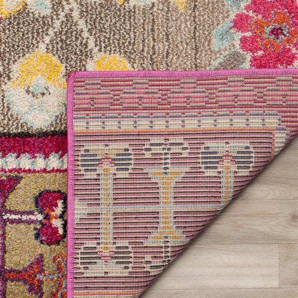 Safavieh Monaco Decorative Rug - 2.2' x 12' - Pink/Multi