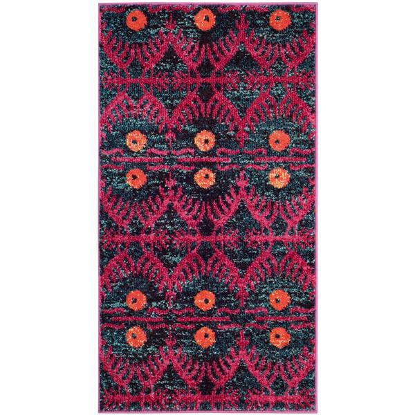 Safavieh Monaco Decorative Rug - 2.2' x 4' - Pink/Multi