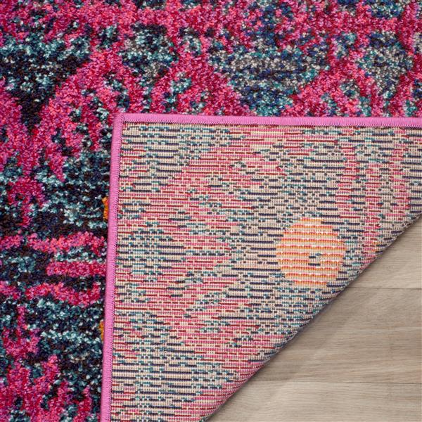Safavieh Monaco Decorative Rug - 2.2' x 8' - Pink/Multi