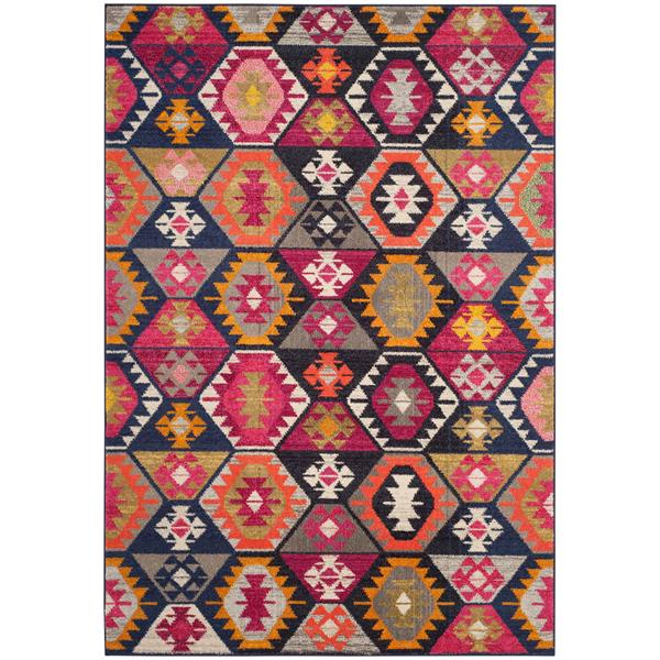 Safavieh Monaco Decorative Rug - 4' x 5.6' - Multi