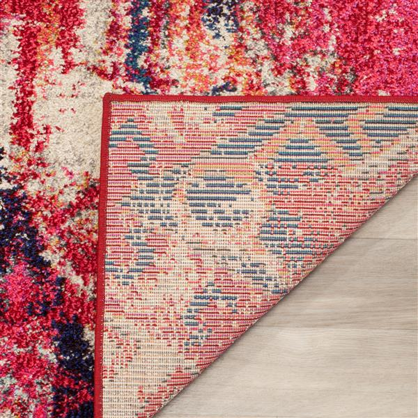 Safavieh Monaco Decorative Rug - 5' x 5' - Magenta/Multi