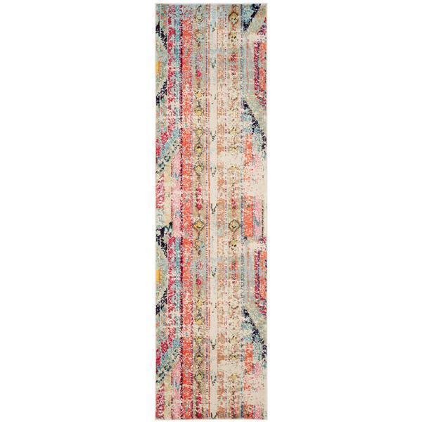 Safavieh Monaco Decorative Rug - 2.2' x 8' - Multi
