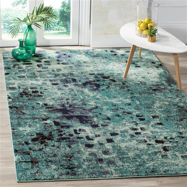 Safavieh Monaco Decorative Rug - 3' x 5' - Light Blue/Multi