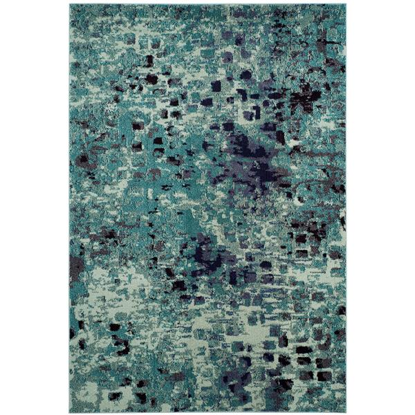 Safavieh Monaco Decorative Rug - 4' x 5.6' - Light Blue/Multi